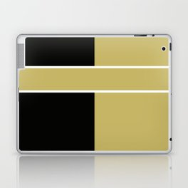 Team Color 6...black,gold Laptop & iPad Skin