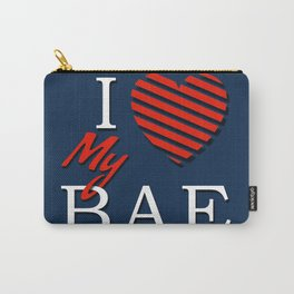 I Love (Heart) My Bae Carry-All Pouch