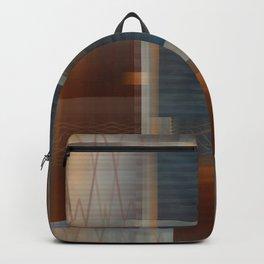 Uninhabited Mosaic (Zig Zag) Backpack