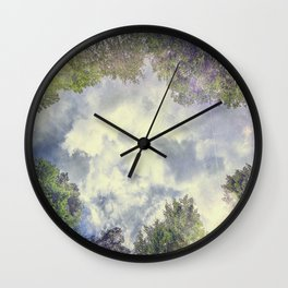 Happily Lost III Wall Clock