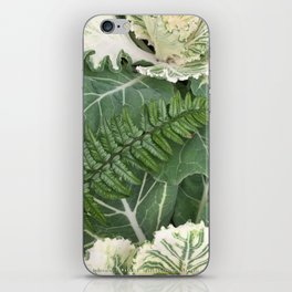Fern on Cabbage iPhone Skin