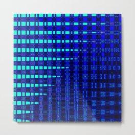Blue in Shadows Metal Print