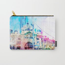Life at Flinders Street Station Carry-All Pouch