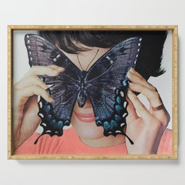 Morpho Butterfly Serving Tray