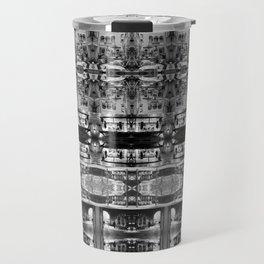 Cafe Stripe Photographic Pattern Art Print #2 Travel Mug