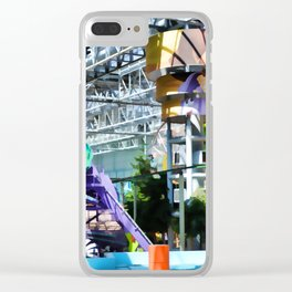 Permanent amusement park Clear iPhone Case