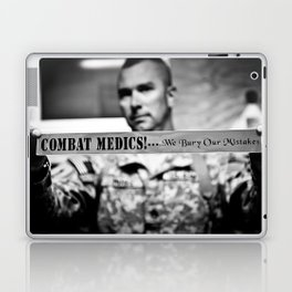 Combat Medics - We bury our mistakes Laptop & iPad Skin