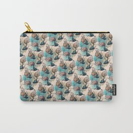 Betta Fish Pattern Carry-All Pouch
