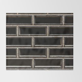 The Grille Throw Blanket