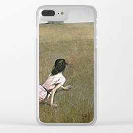 Christina's World - Andrew Wyeth Clear iPhone Case