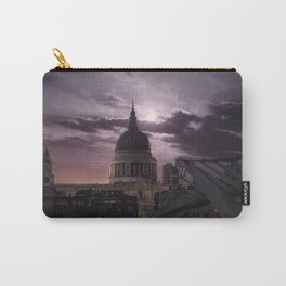 St Pauls full moon, London - United Kingdom Carry-All Pouch