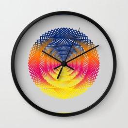 Rainbo Conversation Wall Clock