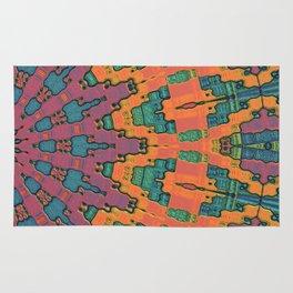Sunset Mandala No. 1 Rug
