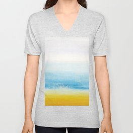 Waves and memories Unisex V-Neck