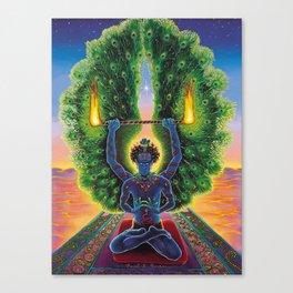 Melek Ta'us (The Peacock Angel) Canvas Print