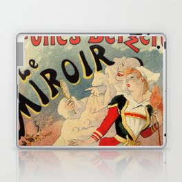 French belle epoque mime theatre advertising Laptop & iPad Skin