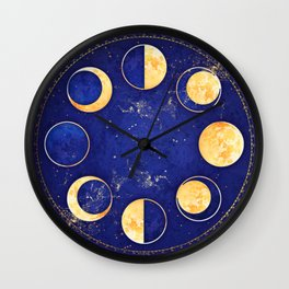 Celestial Atlas :: Lunar Phases Wall Clock