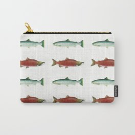 PNW Salmon Dance Carry-All Pouch
