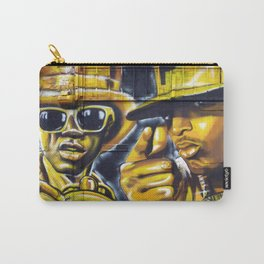 Steet Art in Yellow Carry-All Pouch
