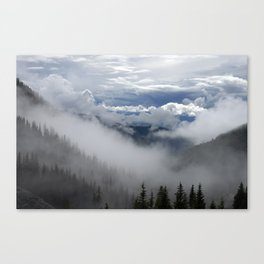 Travell The Valley of Mist Canvas Print