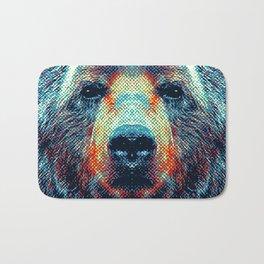 Bear - Colorful Animals Bath Mat