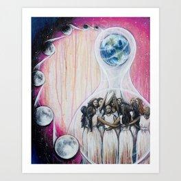 Sister Circle Art Print