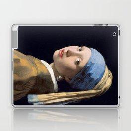 Girl With a Pearl Earring - Vermeer Laptop & iPad Skin