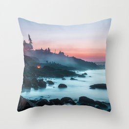 Ogunquit USA Throw Pillow