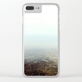 Summer cottage time Clear iPhone Case
