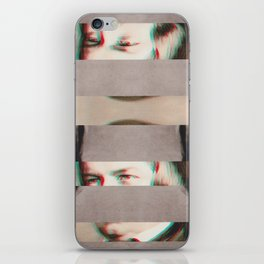 The Decomposed Composer Schumann iPhone Skin