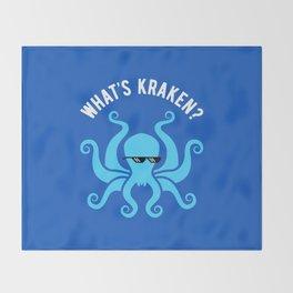 What's Kraken? Throw Blanket