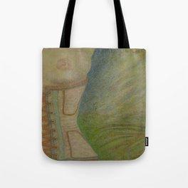 A Lingering Glance Tote Bag
