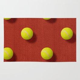 BALLS / Tennis (Clay Court) / Pattern Rug