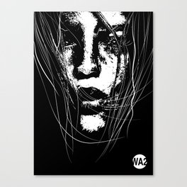 """SOLIVAGANT"" art by weart2.com Canvas Print"