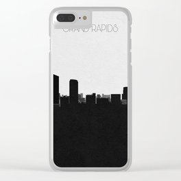 City Skylines: Grand Rapids Clear iPhone Case