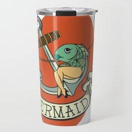 Reverse Mermaid Travel Mug