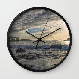 Magnolia Pier Wall Clock