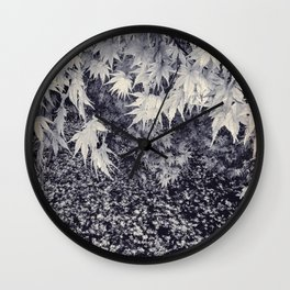 Infinity Maple Leaves, Fall, Autumn Trees Wall Clock