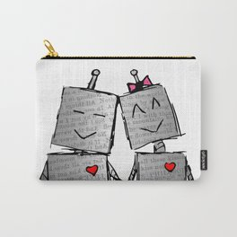 Lovebots Doodle Carry-All Pouch