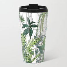 greenhouse illustration Travel Mug