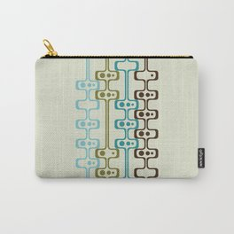 Mid Century Modern Daddy-O (teal) Carry-All Pouch