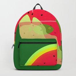 Watermelon Underwater Scene Backpack