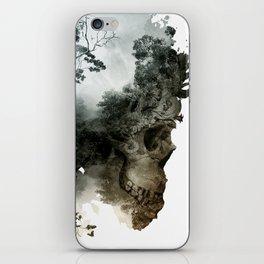 Skull - Metamorphosis iPhone Skin