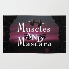 Muscles and Mascara Rug