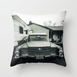 Hearse Throw Pillow