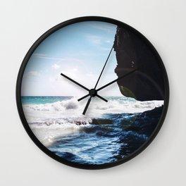 Tulum, Quintana Roo Wall Clock