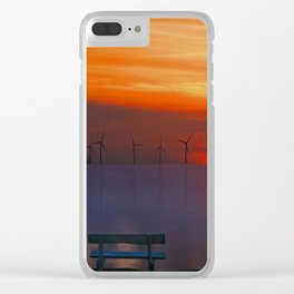 Relax (Digital Art) Clear iPhone Case