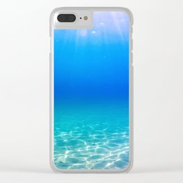 One Deep Breath Clear iPhone Case
