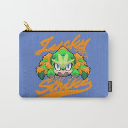 Lucky Strike Orange Carry-All Pouch