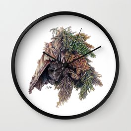 Colors of the Cypress Wall Clock